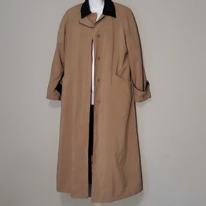 Anne Klein Trench Coat w. Removable Lining. Sz. 6.